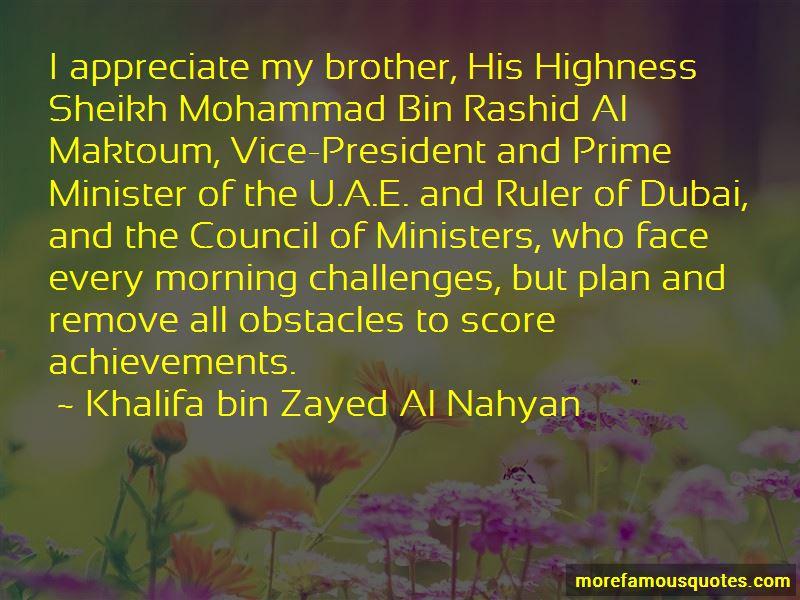 Dubai Ruler Quotes