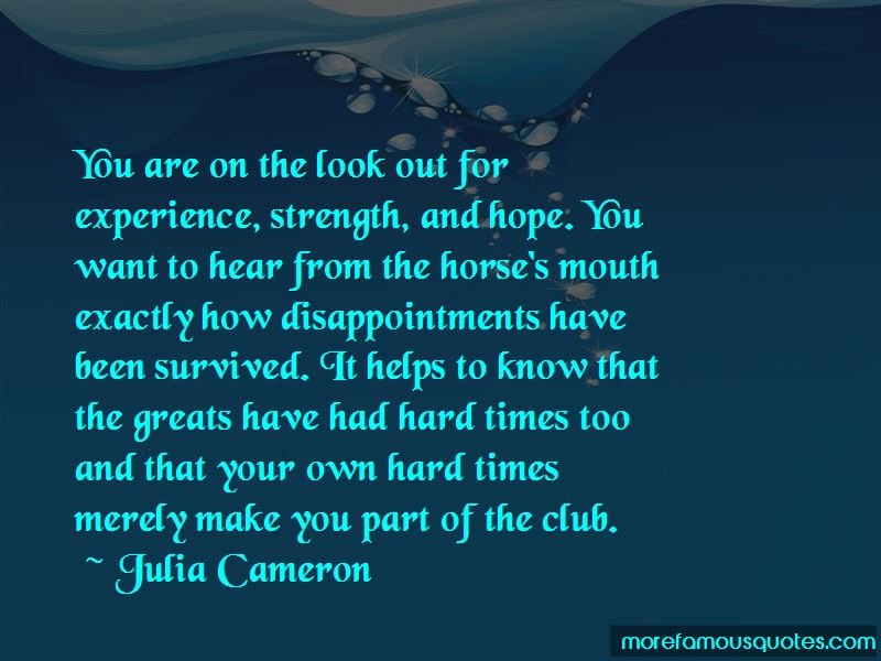 Experience Strength And Hope Quotes