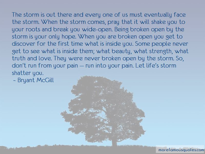 Face The Storm Quotes Pictures 2