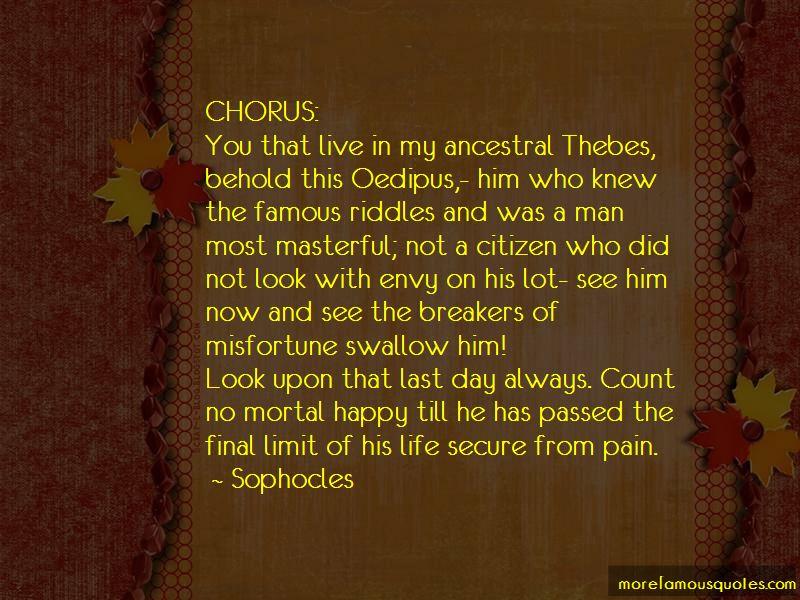 Famous Chorus Quotes