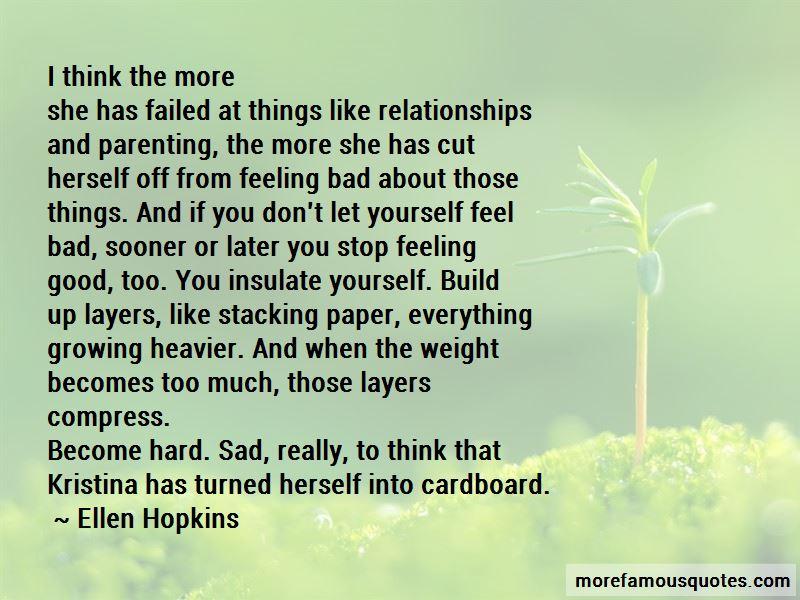 Feeling Like You Failed Quotes