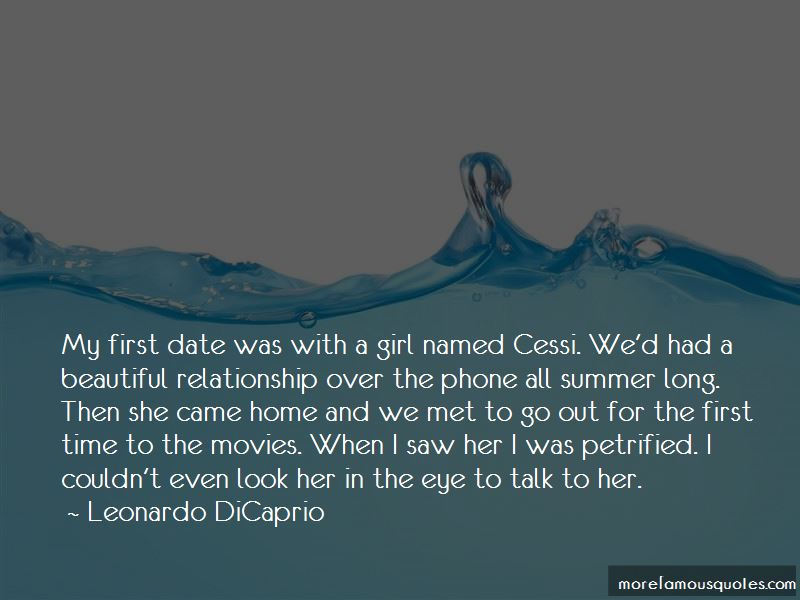 First Time Date Quotes