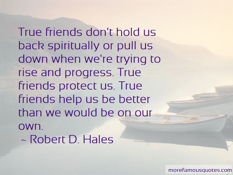 Friends Protect Quotes