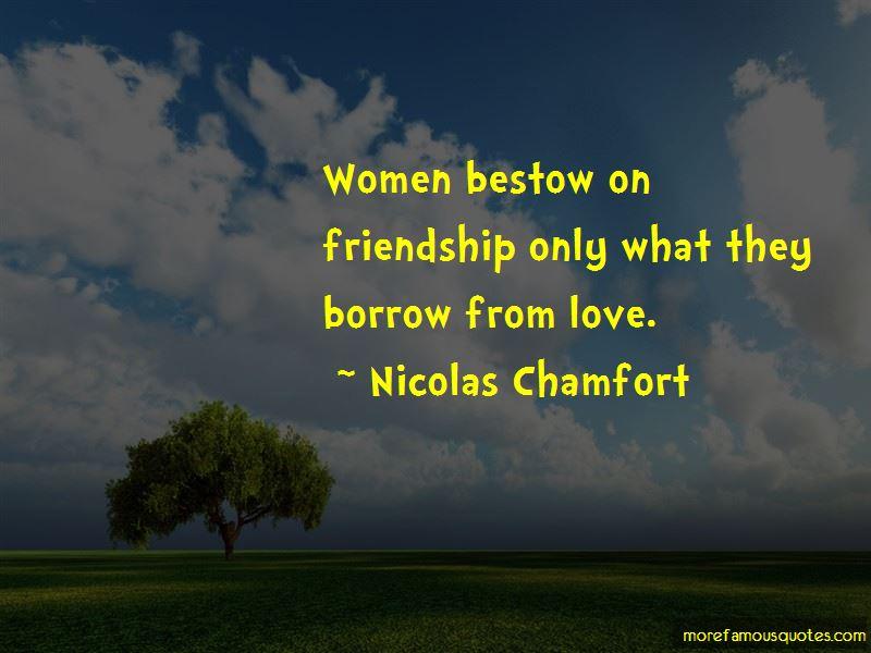 Friendship Borrow Quotes