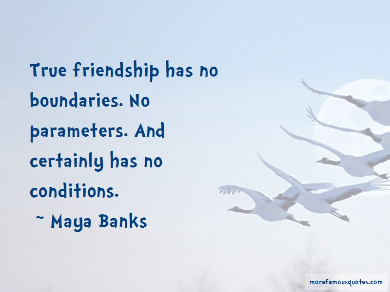 Friendship Conditions Quotes