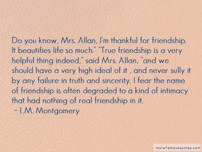 Friendship Failure Quotes