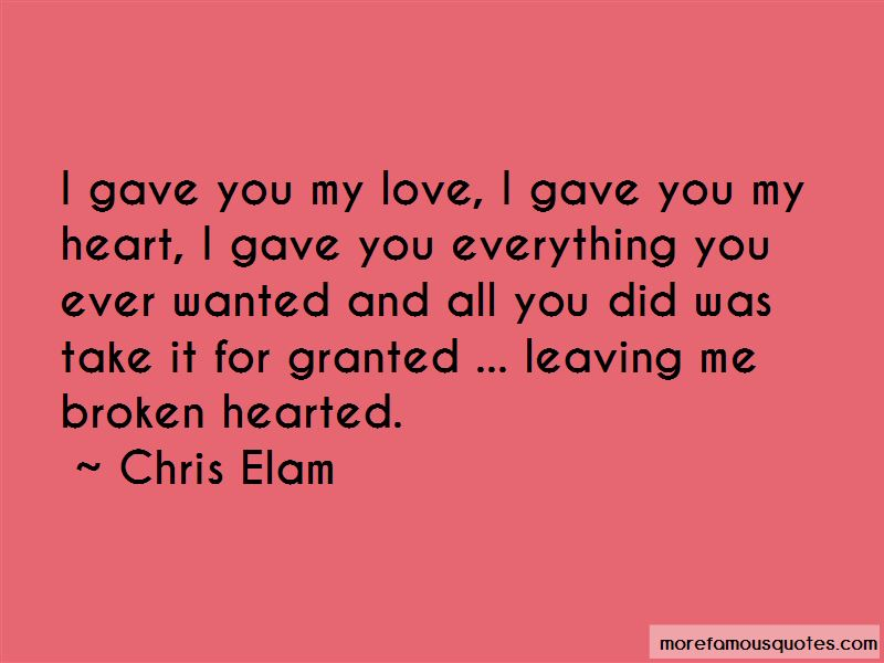 Gave You My Heart Quotes Pictures 2