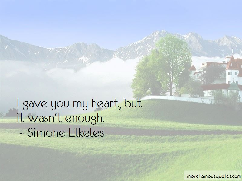Gave You My Heart Quotes Pictures 4