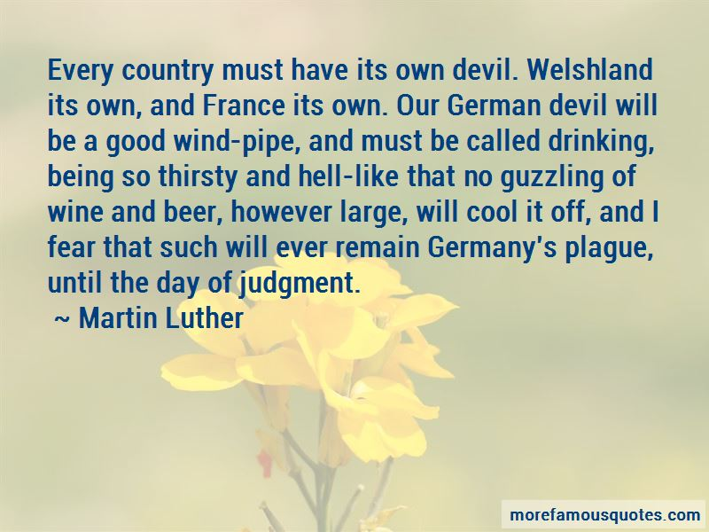 German Beer Drinking Quotes