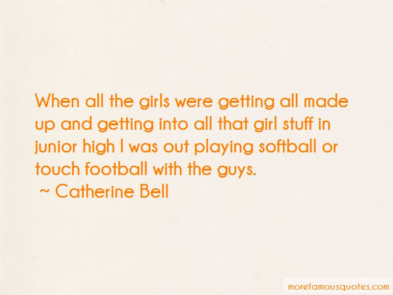 Girl Playing Football Quotes: top 2 quotes about Girl ...
