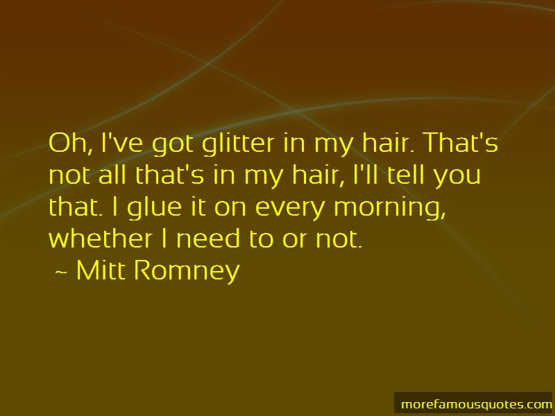 Glitter And Glue Quotes