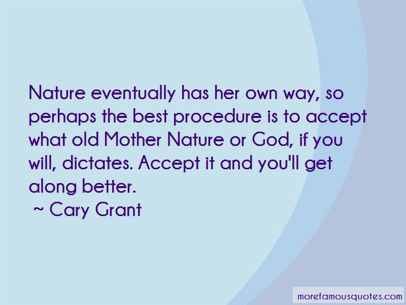 God And Mother Nature Quotes