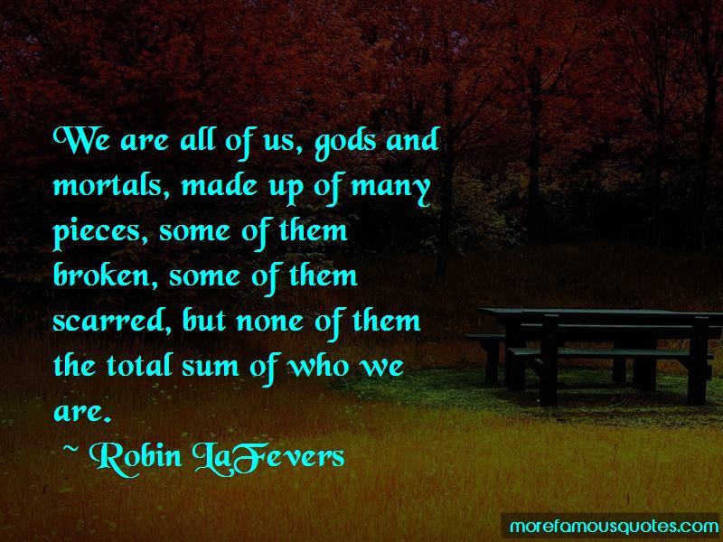 Gods And Mortals Quotes