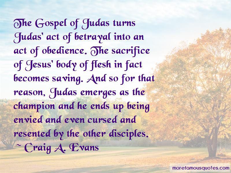 Gospel Of Judas Quotes