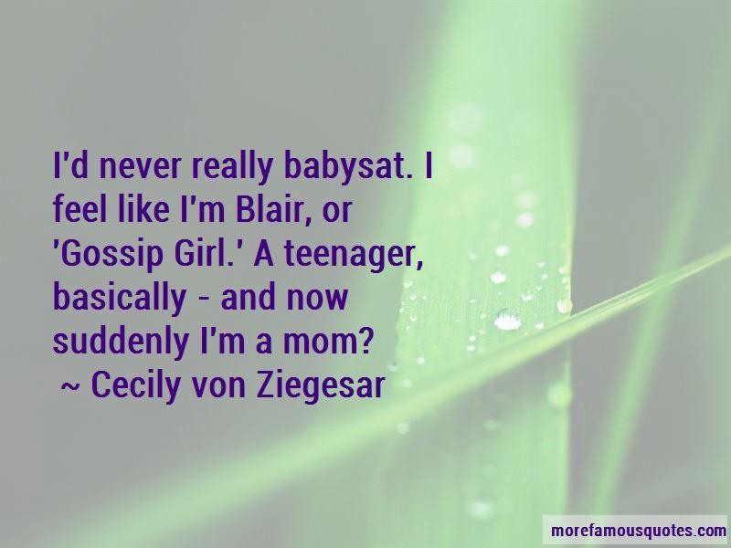 Gossip Girl Mom Quotes