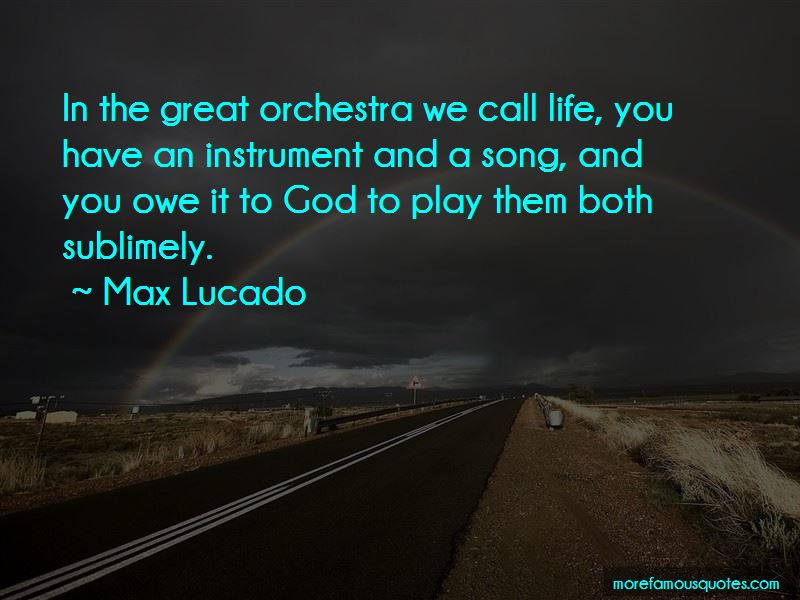 Great Orchestra Quotes