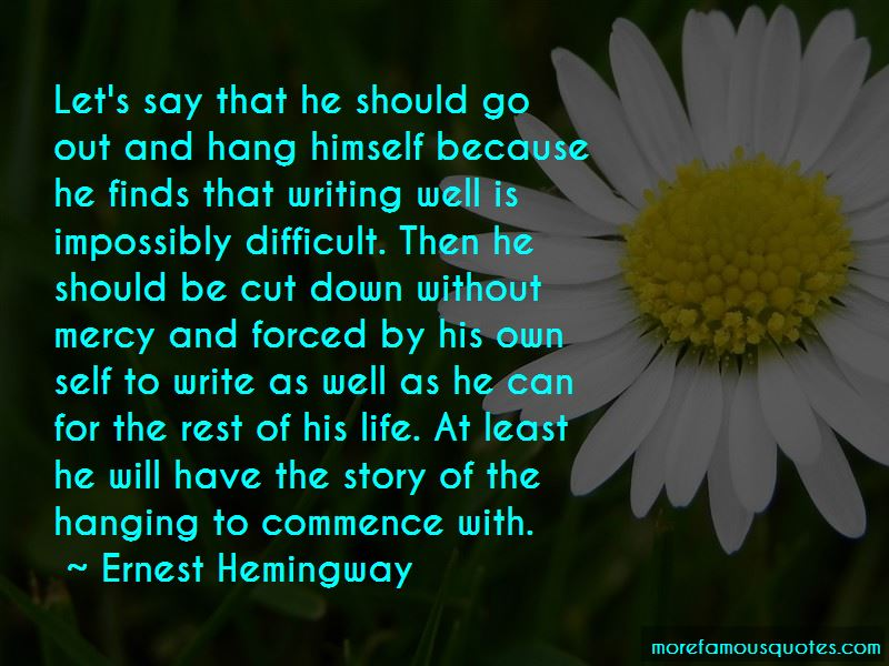 Hang Himself Quotes Pictures 4