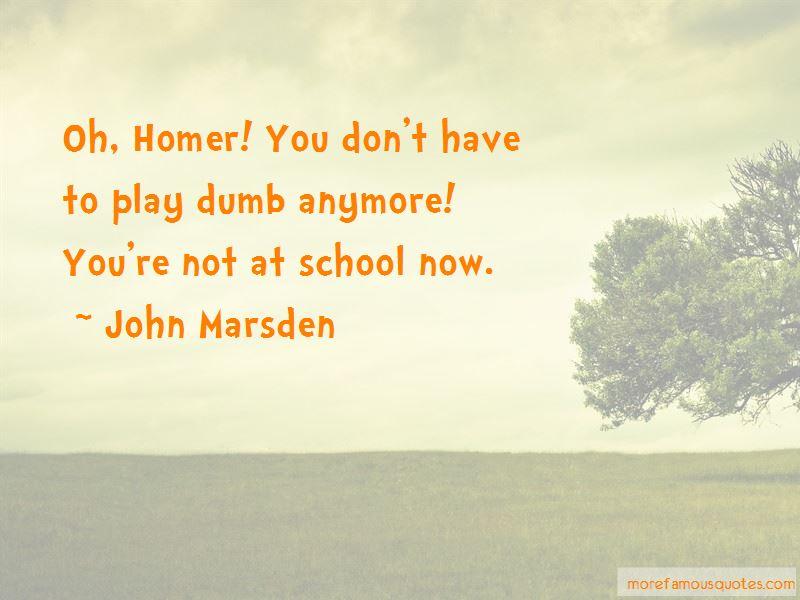 Homer Dumb Quotes