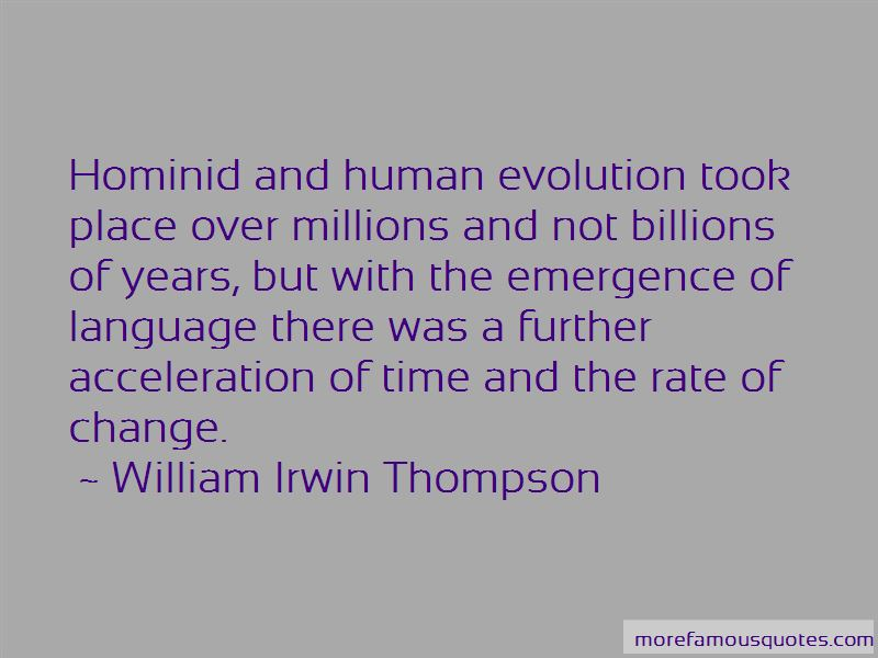 Hominid Evolution Quotes Pictures 2