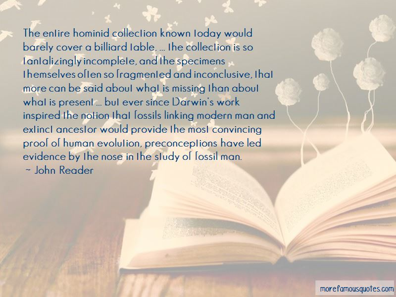 Hominid Evolution Quotes Pictures 3