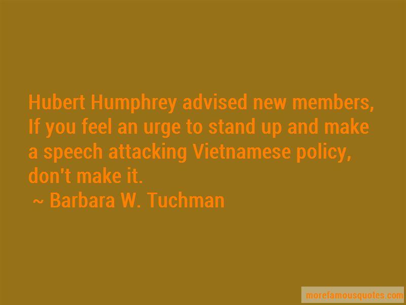 Hubert Quotes
