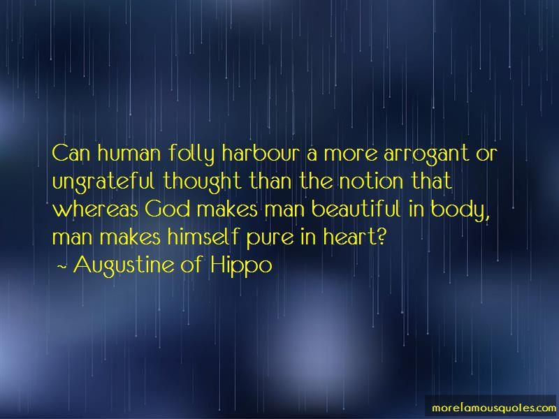 Human Folly Quotes