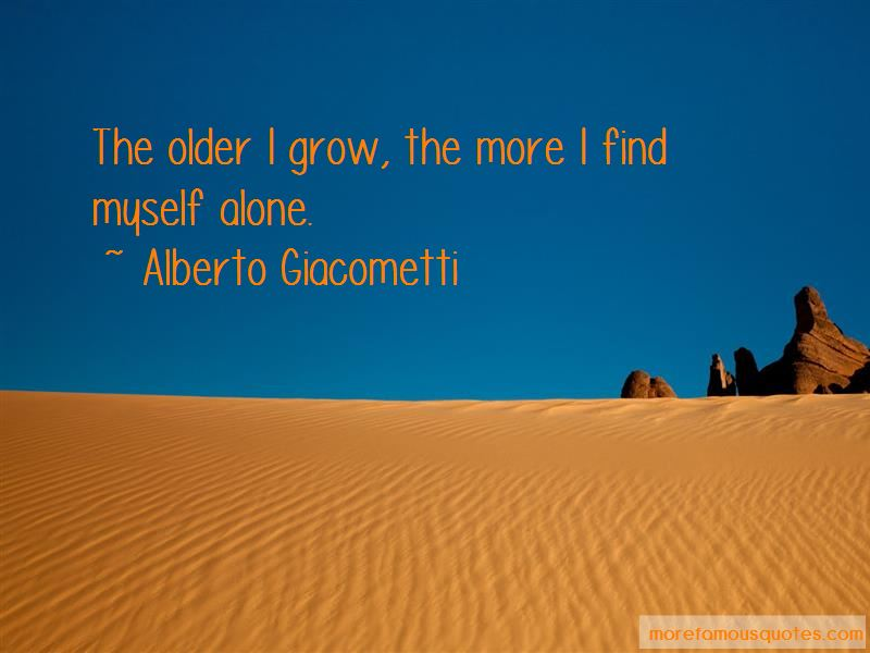 I Find Myself Alone Quotes