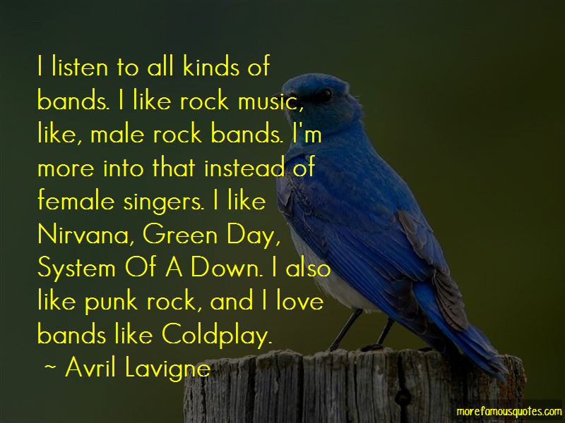 I Love Bands Quotes