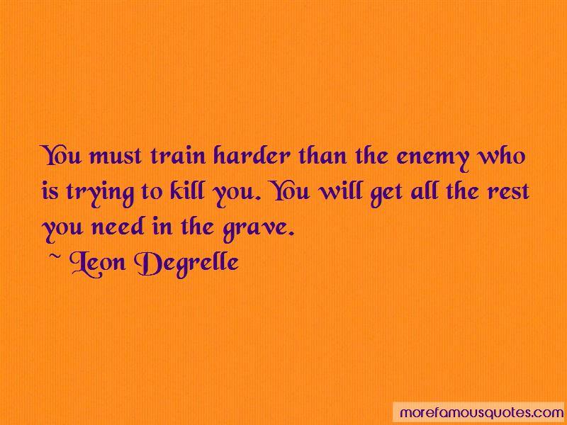 I Will Train Harder Quotes