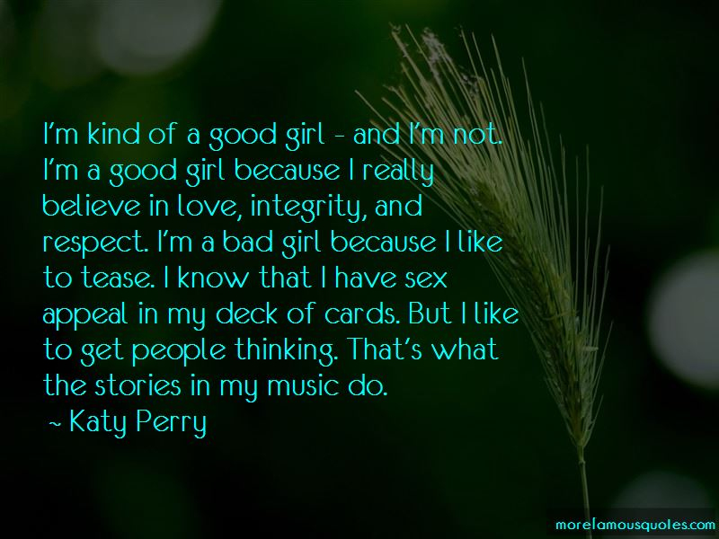 I'm A Good Girl Quotes Pictures 2