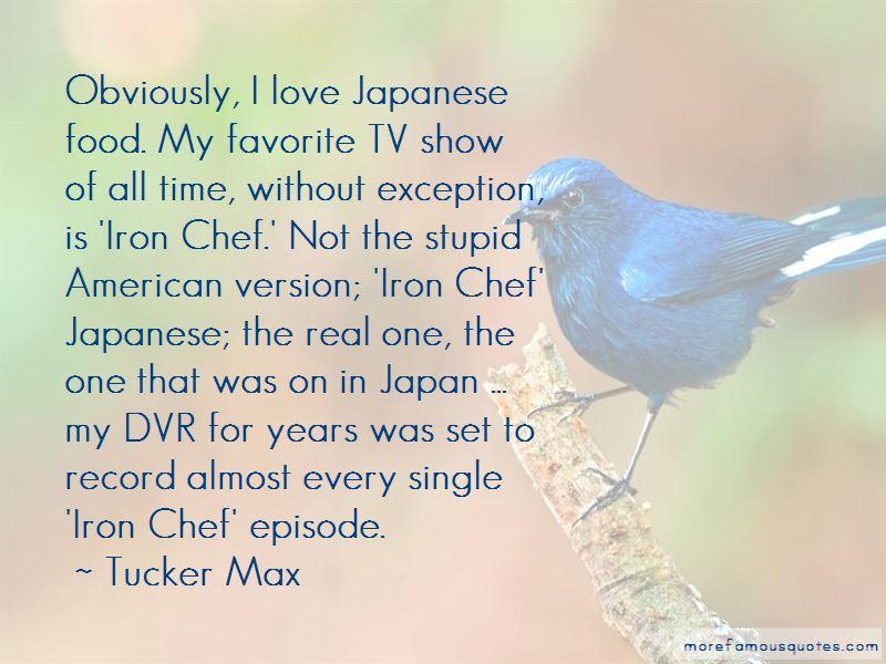 Iron Chef Japan Quotes