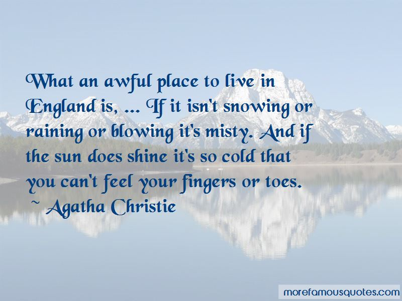 It's So Cold That Quotes