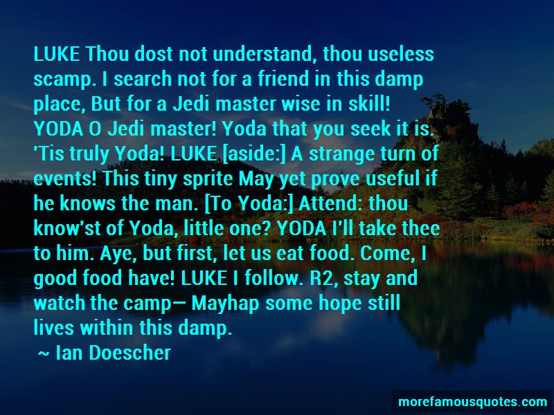 Jedi Master Yoda Quotes Top 2 Quotes About Jedi Master Yoda From