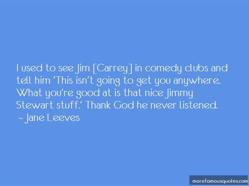Jimmy Carrey Quotes