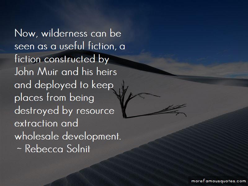 John Muir Wilderness Quotes