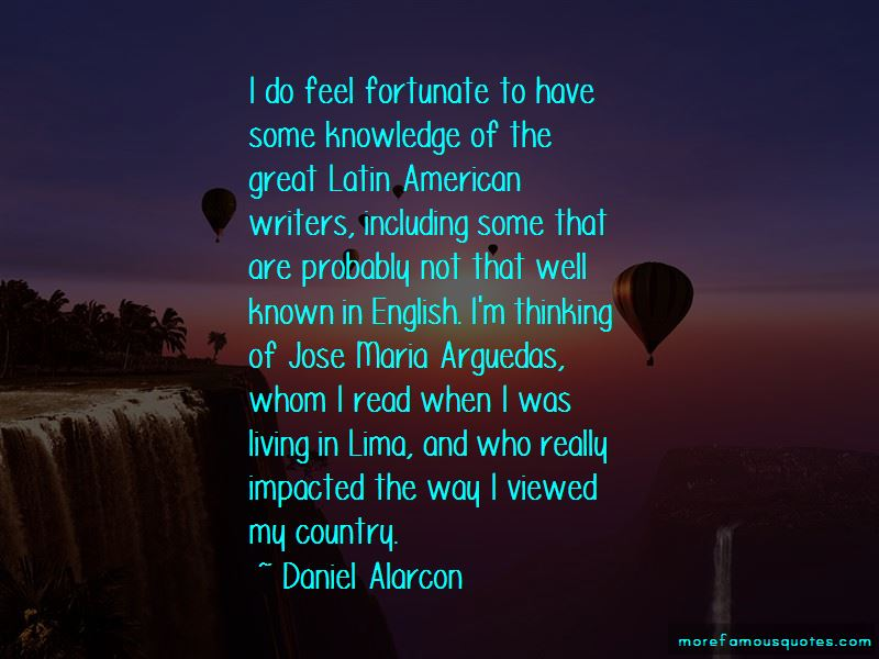 Jose Maria Arguedas Quotes