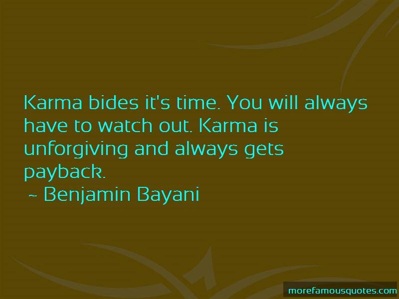 Karma Payback Quotes