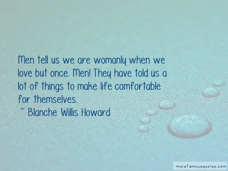 Life Comfortable Quotes