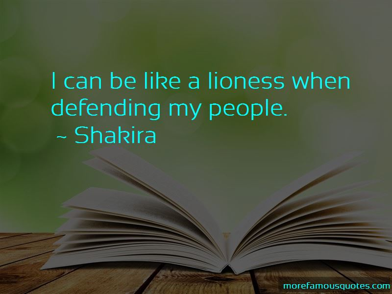 Like A Lioness Quotes Pictures 4