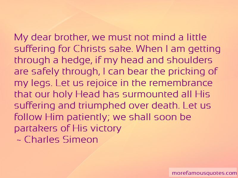 Little Brother Death Quotes
