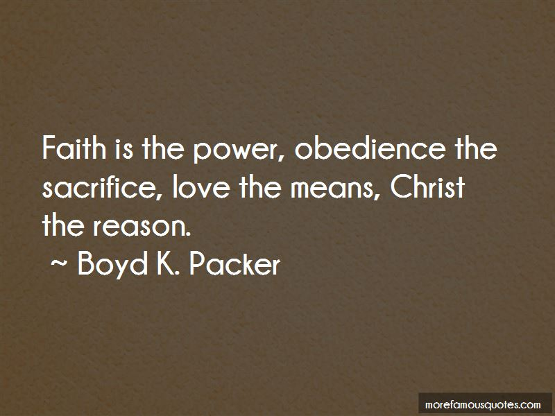 power and obedience