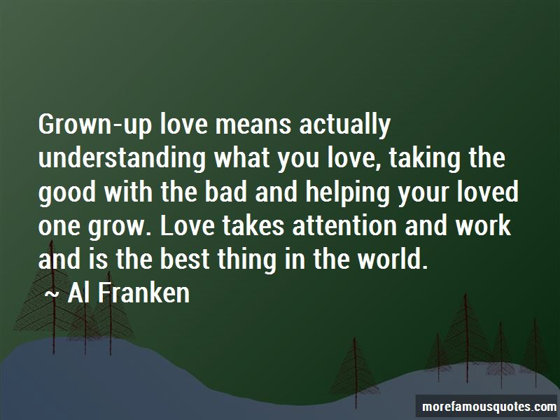 Love Means Understanding Quotes