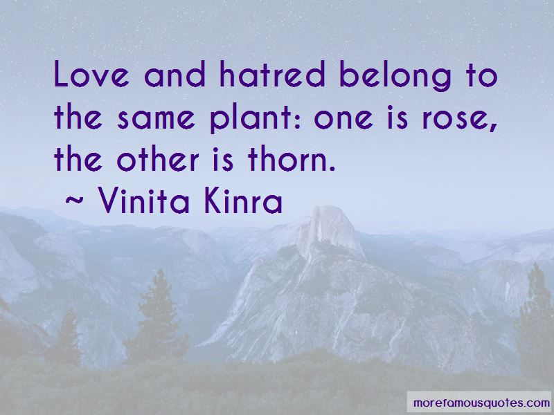Love Rose Thorn Quotes