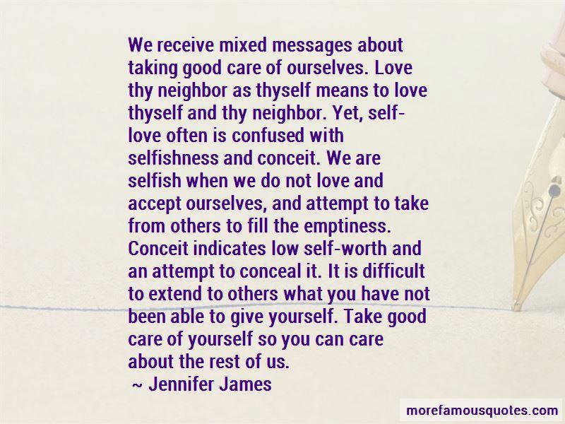 Love Thyself Quotes