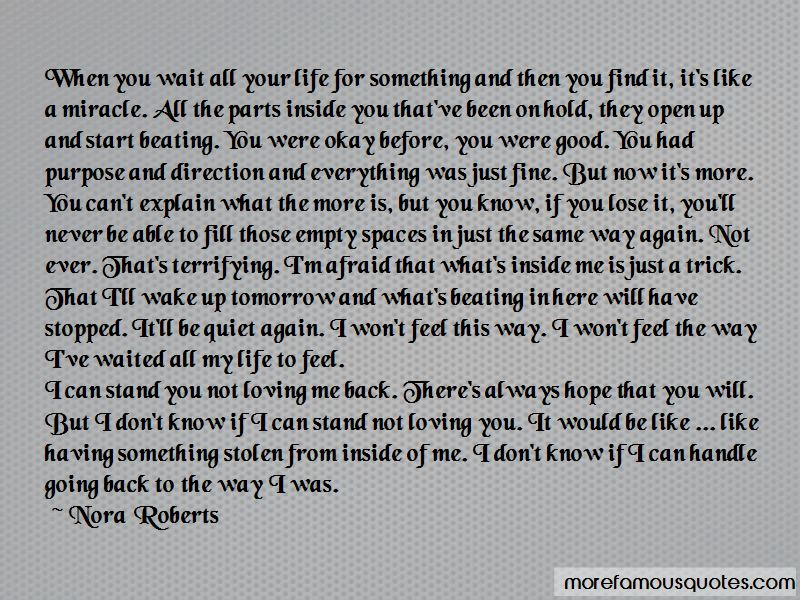Loving You Is All I Know Quotes