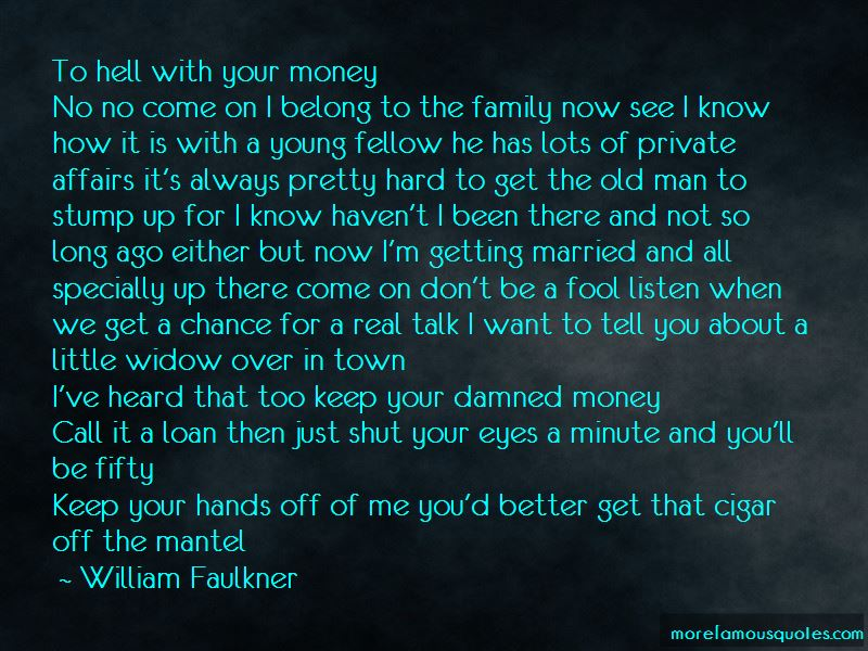 Married To Money Quotes