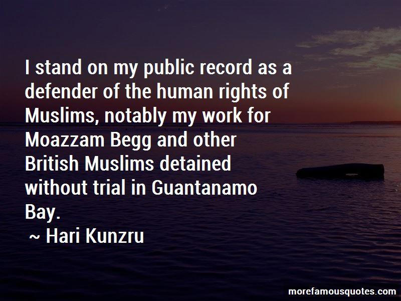 Moazzam Begg Quotes
