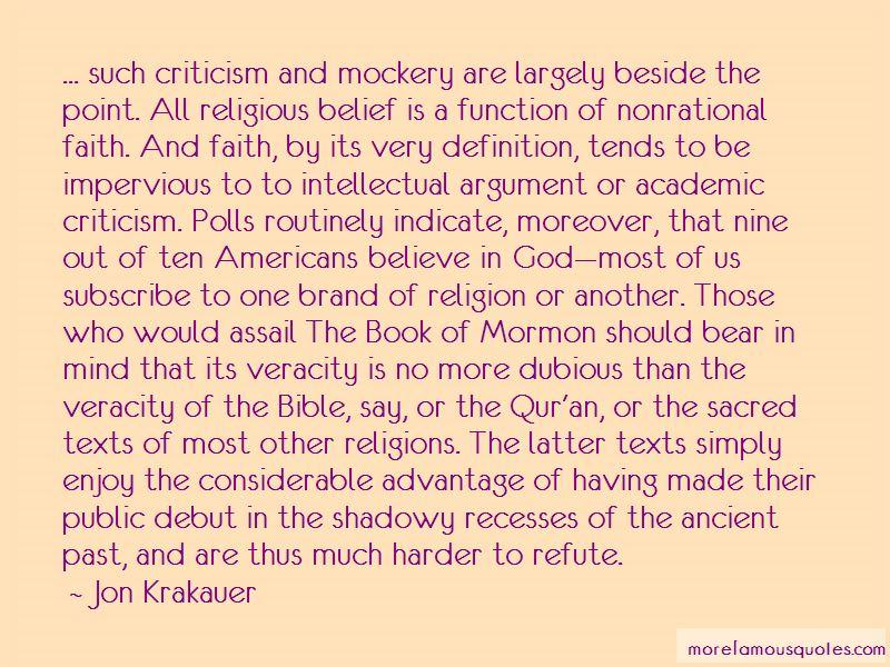 Mockery Bible Quotes