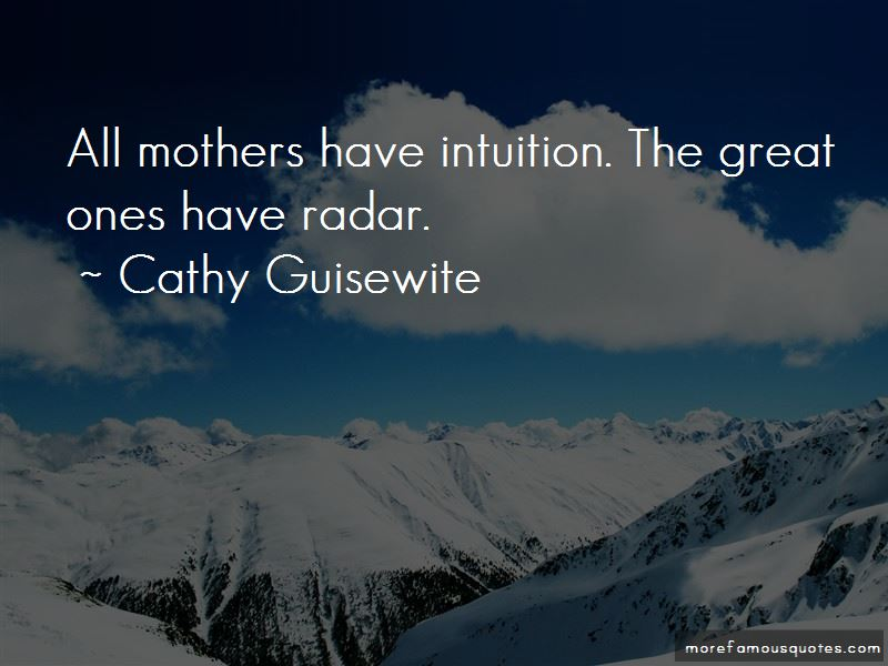 Mother's Intuition Quotes