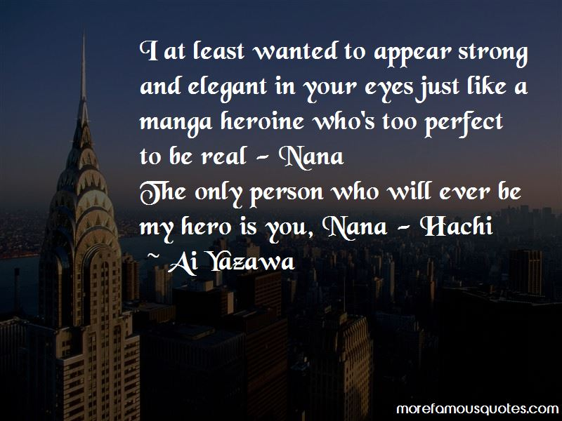 Nana Hachi Quotes